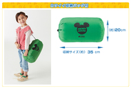 ミッキーマウスといっしょに寝れる!子供用シュラフ