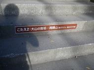 大山阿夫利神社、大山寺の紅葉を求めて