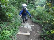 家族で御岳山登山 生後7ヶ月の息子をベビーキャリアで背負って♪