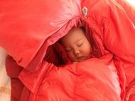 風邪やインフルエンザ等で発熱して寒気があるとき寝袋は大活躍♪寒気が酷いときの最終手段!