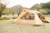 青野原キャンプ場でスノーピーク ランドベース6を体験してきました!
