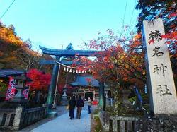 11月紅葉ピーク過ぎた榛名山へ 榛名富士を登り、榛名神社を参拝