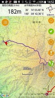 筑波山の薬王院コースを登る。登山者少なく、階段多い、修行の道。