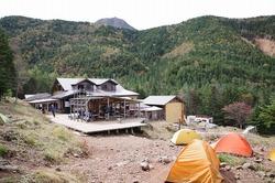 【テント保温力測定】登山テント泊で室内・外の温度測定した結果、温度差は4.8℃(RC-5 USB温度データーロガー使用)