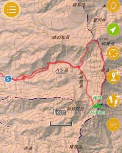 秋の南八ヶ岳縦走(硫黄岳-横岳-赤岳)登山[2017/09/30-10/01]