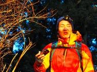 冬に筑波山でご来光登山。寝不足の中、ヘッドライトで夜行登山&氷点下ケーブルカー待ちで翌日発熱。