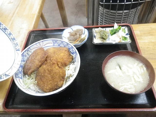 バンディ塩原 で ソースカツ丼!