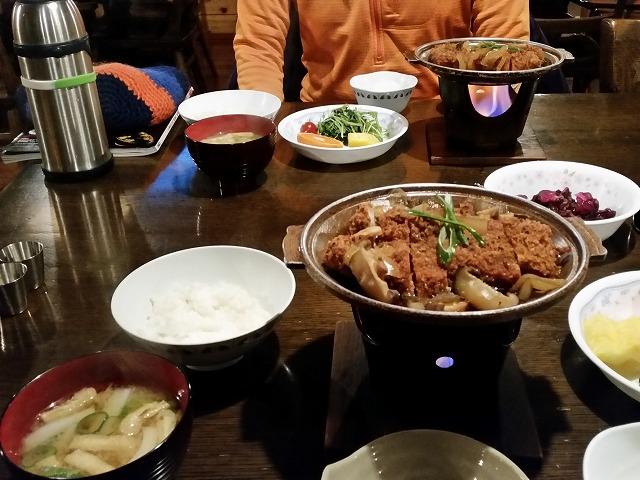 赤岳鉱泉 夕飯