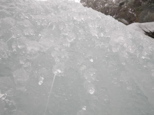 南沢小滝 アイスクライミング