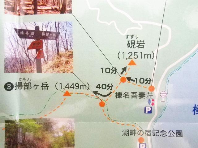 掃部ヶ岳の登山ルート