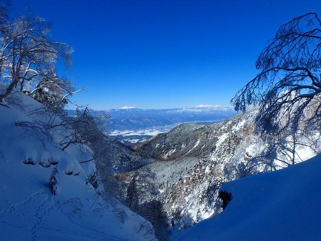 裏同心ルンゼをアイスクライミング♪なんとか登り切り大同心稜を下山(二日目)