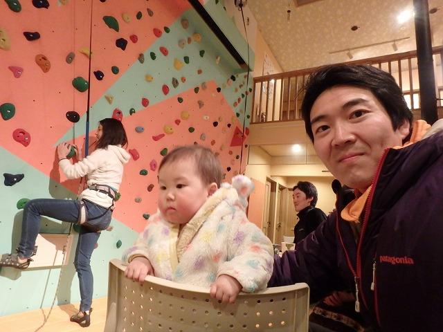 岩根山荘アイスツリーを登った後、川上山荘で1泊