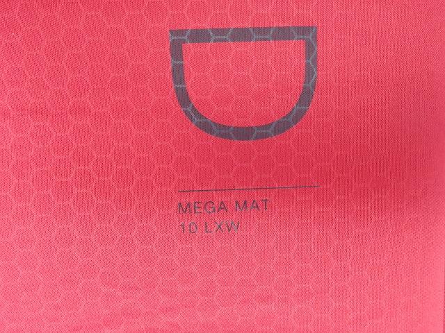 EXPED MEGAMAT(エクスペド メガマット) 10LXW -48℃ R値 9.5