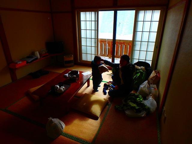 2017年の初アイスクライミングは岩根山荘で。1泊2日宿泊滞在記