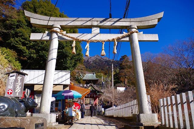 筑波山神社 入り口