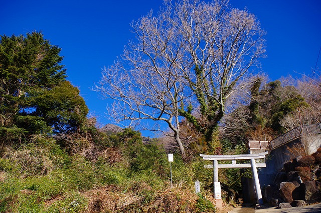 筑波山 白雲橋コース登山口