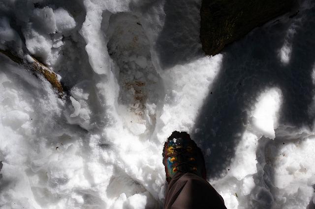 筑波山 白雲橋コース 雪