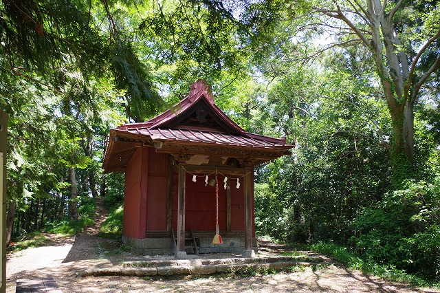 大平山山頂 浅間神社