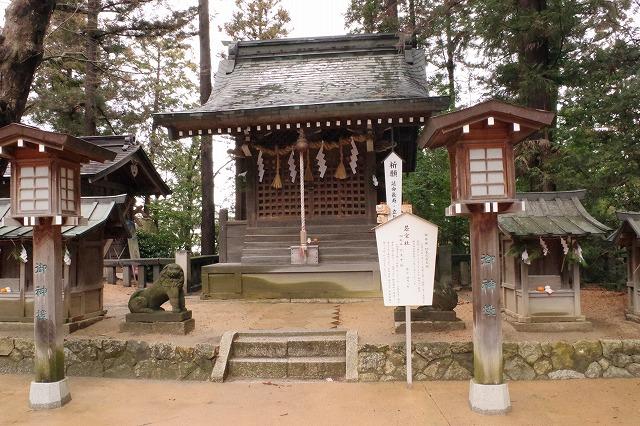 穂高神社 若宮社