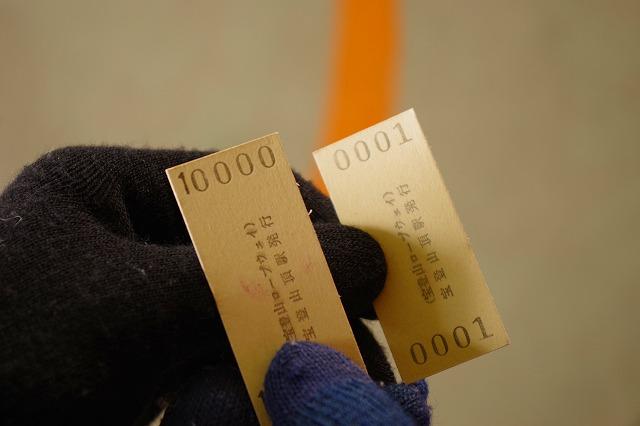 宝登山ロープウェイ 乗車券 チケット