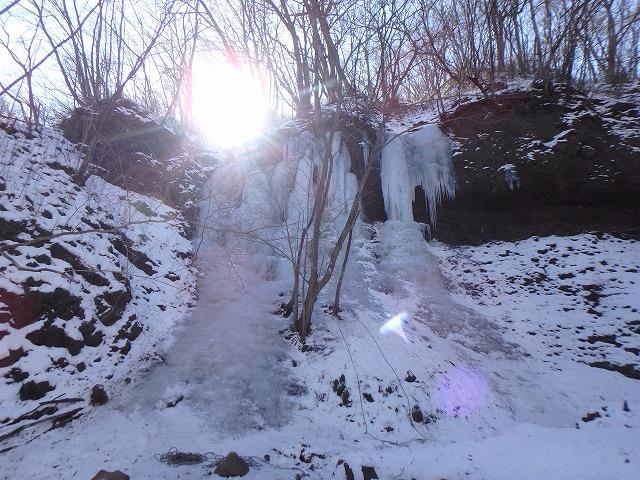 西上州霧積周辺のアイスクライミング