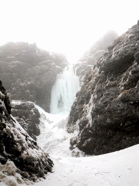八ヶ岳 ジョウゴ沢 乙女の滝