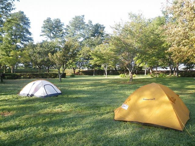 かじかの里公園でキャンプ!