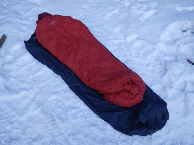 厳冬期用寝袋
