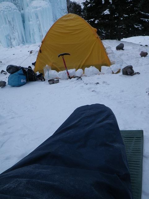 八ヶ岳で厳冬期テント泊in赤岳鉱泉