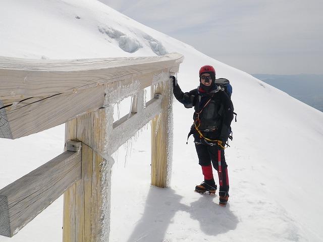 冬富士登山