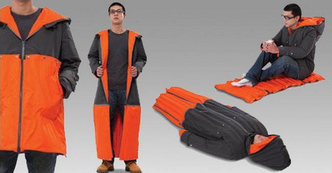 Inflatable Sleeping Coat/Bag