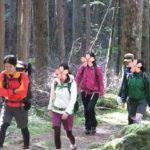 笠取山でもぐらと出会い、水干でお祈り