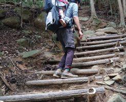 久々のベビーキャリアに子供乗せて登山@筑波山-御幸ケ原ルート