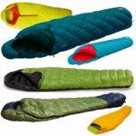 山岳・登山向け3シーズン用のダウン・化繊綿の寝袋おすすめ一覧