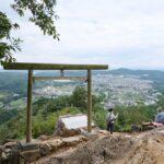 日和田山(埼玉県日高市)を初登山。駐車料金300円。男坂の岩場面白い。