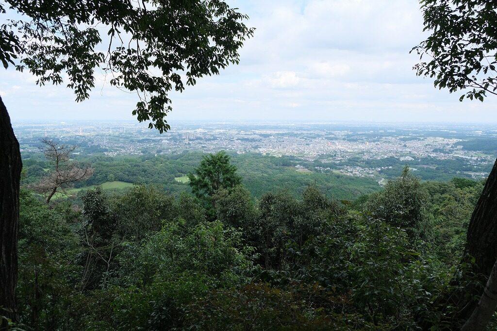 日和田山 頂上(標高305m) 展望