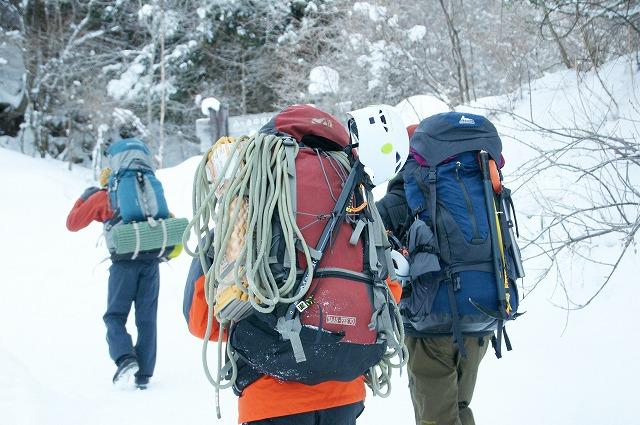アイスクライミング登山 八ヶ岳