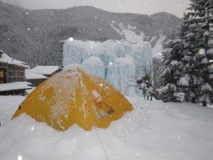 雪山 テント泊 八ヶ岳