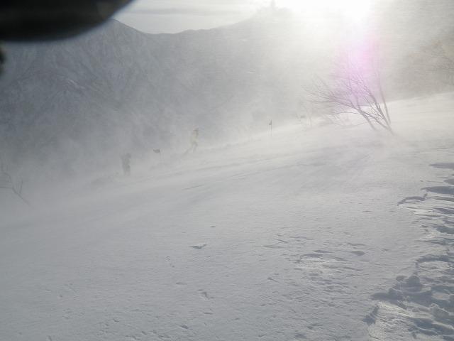 ブリザード 谷川岳