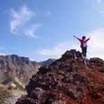 9月中旬、白銀荘から三段山を登る。