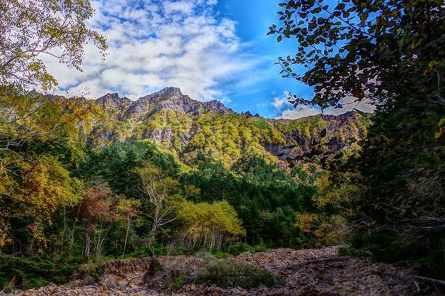 紅葉の南八ヶ岳