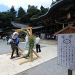 筑波山で夏越大祓。御幸ヶ原コースを登り、下山はケーブルカーで一気に神社まで下る