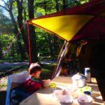 上高地キャンプ4日目。滞在記まとめ(ごみ、充電、レンタル品、郵便局、気温、服装、寝袋、洗濯、携帯電話の電波状況、感想)