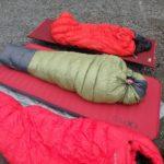 山岳・登山向けの寝袋のサイズ選び-付かず離れずが実用的なサイズ