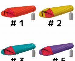 モンベルの女性用のダウンハガー800 Women's #1,#2,#3,#5