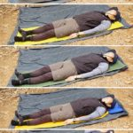 【実験】八ヶ岳テント場で各マット寝心地比較[クローズドセル(厚さ1.0/1.5/2.0),セルフインフレータブル(厚さ2.5),エアーマット(厚さ5.0)]